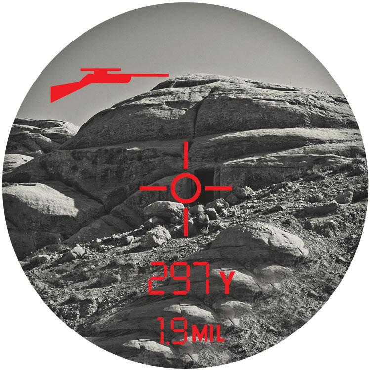 博士能激光测距仪202540Elite 1 Mile CONX