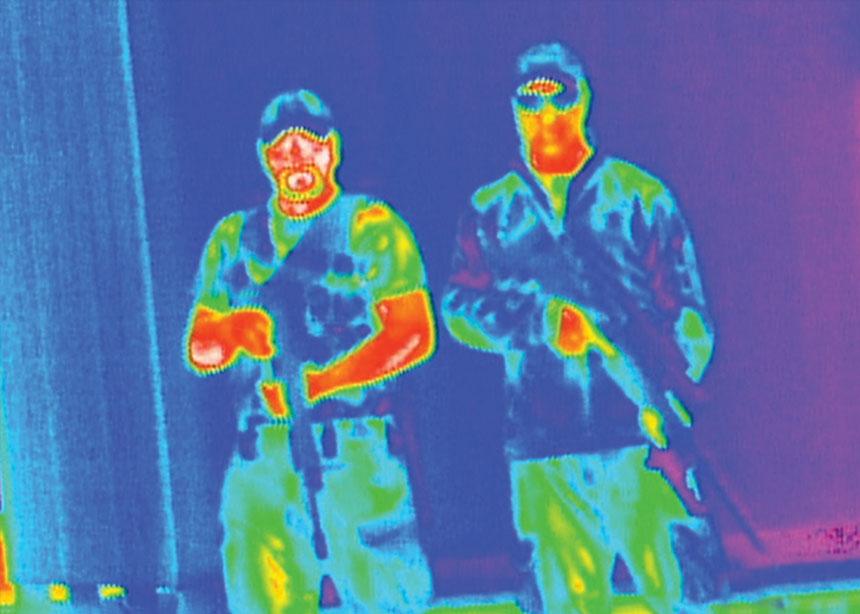 美国阿姆塞特警用热成像仪司令官4-32x100 640高清分辨率